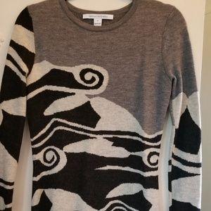 Diane von Furstenburg DVF Sweater Dress M